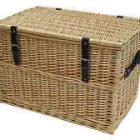 Wicker Toy Chest