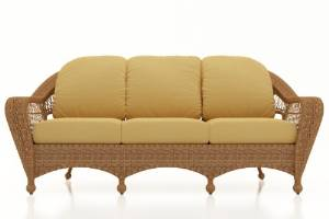 Catalina Outdoor Patio Rattan Sofa