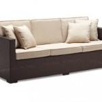 Griffen All-Weather Wicker 3-Seater Sofa