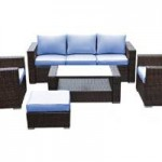 Reef Rattan Mustique 5 Pc Sofa Set