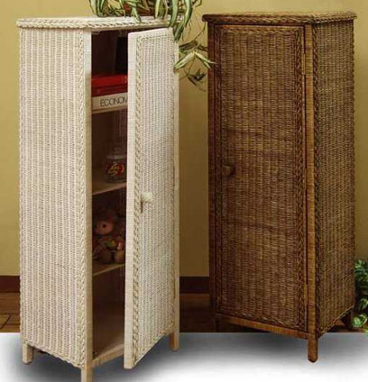 list of wicker bathroom furniture
